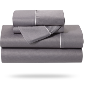 Dri-Tec Lite Sheet Set -Grey-Split Cal King
