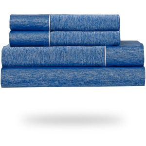 Ver Tex  Split Cal King Cobalt Blue