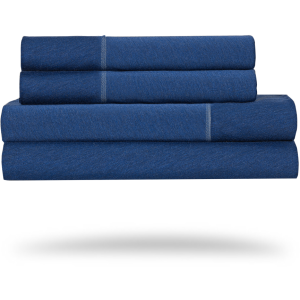 Hyper-Wool Performance Sheet Set-Navy-Queen