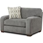 Chandler Chair & 1/2 - Steel