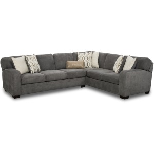 Chandler 2PC Sectional - Steel