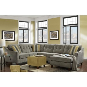 3 PC Sectional - Sydney Gray