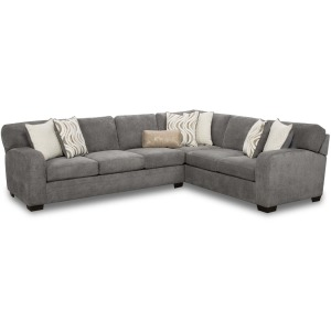 Chandler 2 PC Sectional - Steel