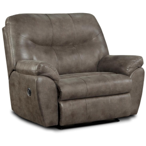 Denver Big Man Recliner - Gunmetal