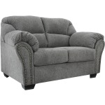 ALLMAXX PEWTER LOVESEAT