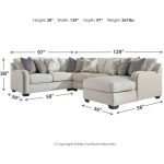 Dellara 4-Piece Sectional with Chaise