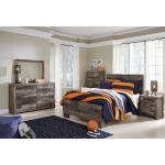Derekson Full Panel Bed