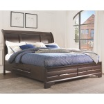 Andriel King Sleigh Bed with Storage
