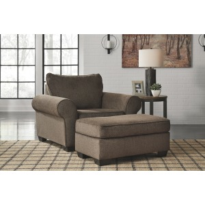 Nesso Oversized Chair & Ottoman