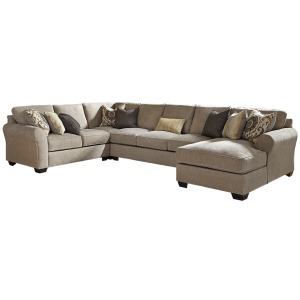 ASHLEY 39102 4Pc Sectional