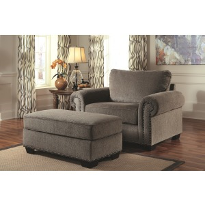 Emelen Oversized Chair & Ottoman