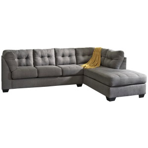 Maier 2-Piece Sectional with Chaise and Sleeper