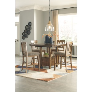 Flaybern 5 PC Counter Height Dining Set