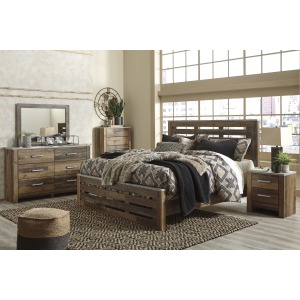 B337 QUEEN 7PC STRG BED SET
