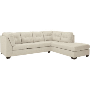 Falkirk 2-Piece Sectional with Chaise and Sleeper