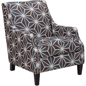 BRISE CHESTNUT ACCENT CHAIR