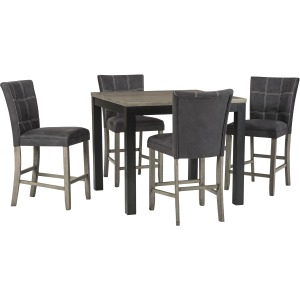 D294-13 5Pc COUNTER HT DINING SET