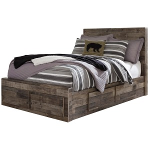Derekson Full Panel Bed with Storage