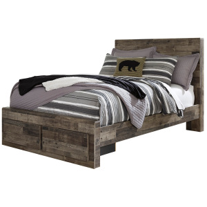 Derekson Full Panel Bed with Storage