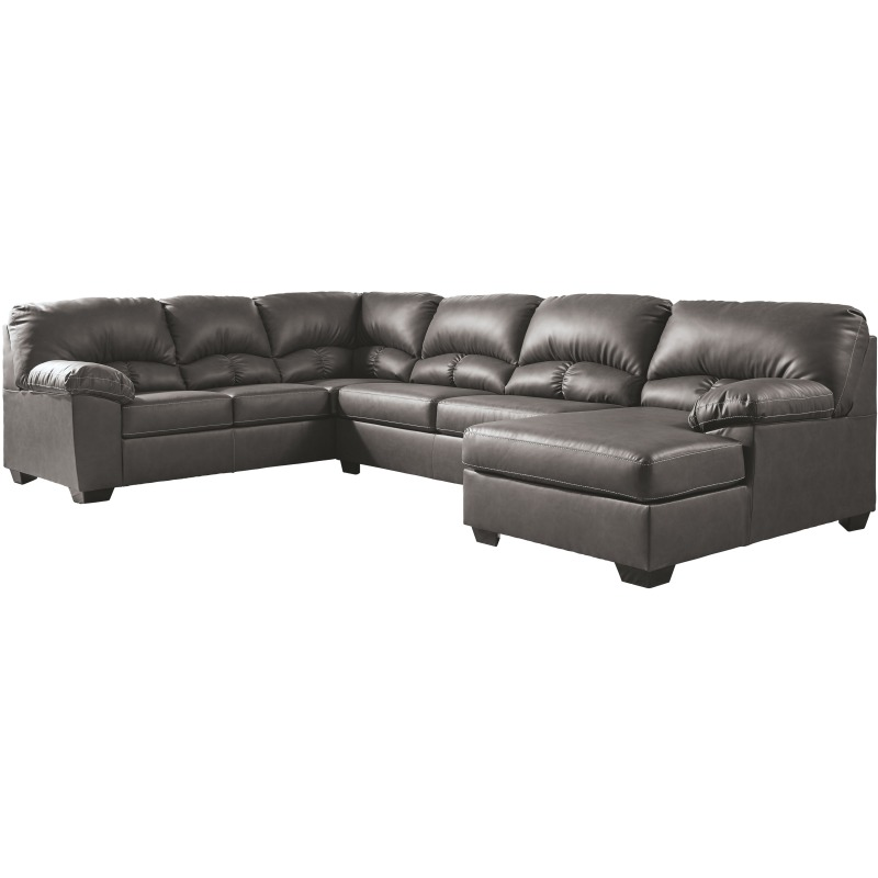 Aberton 3-Piece Sectional with Chaise