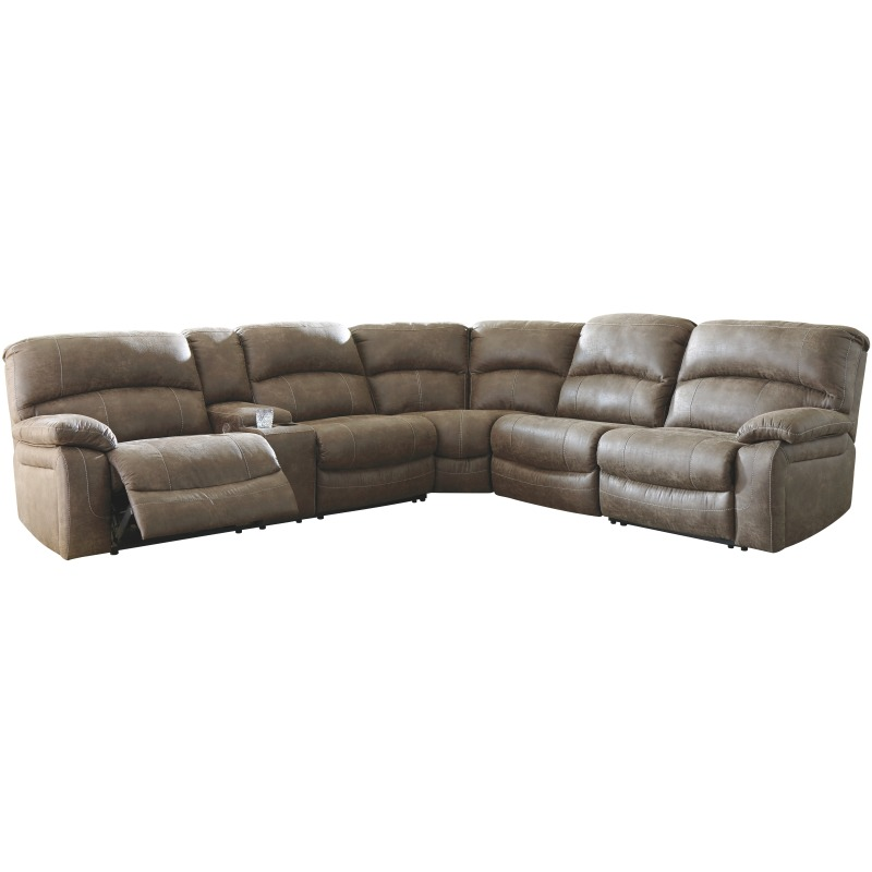 Segburg 4-Piece Reclining Sectional with Power