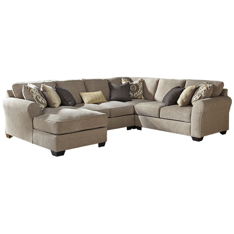 Astonishing Pantomine 4 Piece Sectional With Chaise By Benchcraft Uwap Interior Chair Design Uwaporg