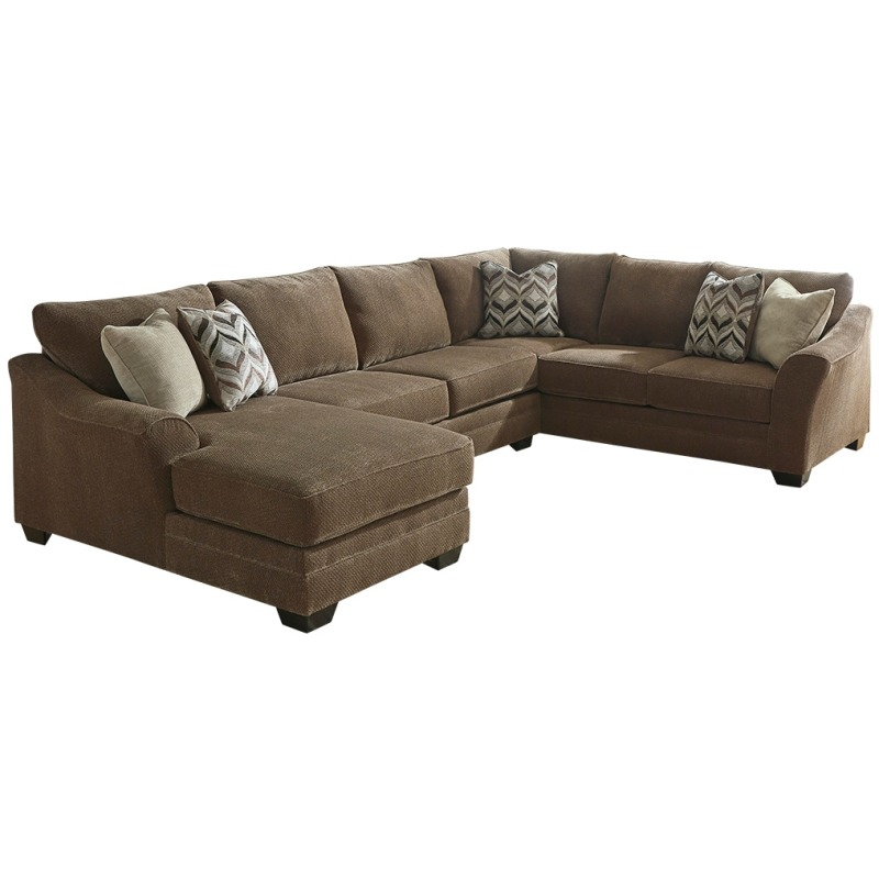 Cool Justyna 3 Piece Sectional With Chaise By Benchcraft Squirreltailoven Fun Painted Chair Ideas Images Squirreltailovenorg