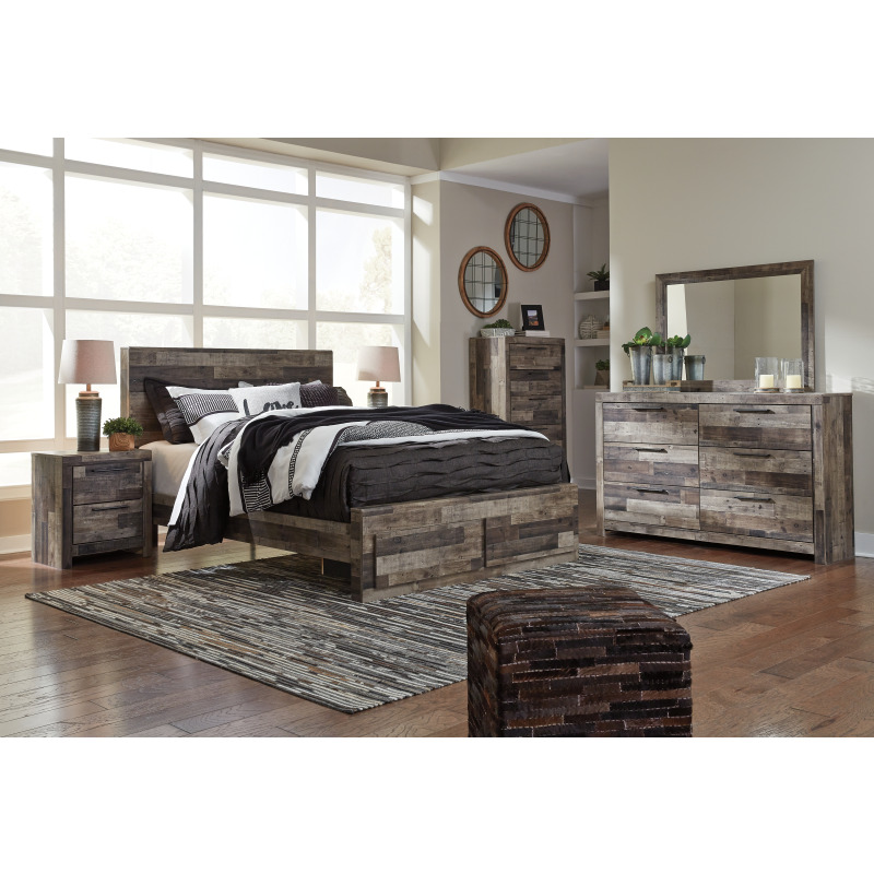 Derekson Queen Panel Bed with Storage