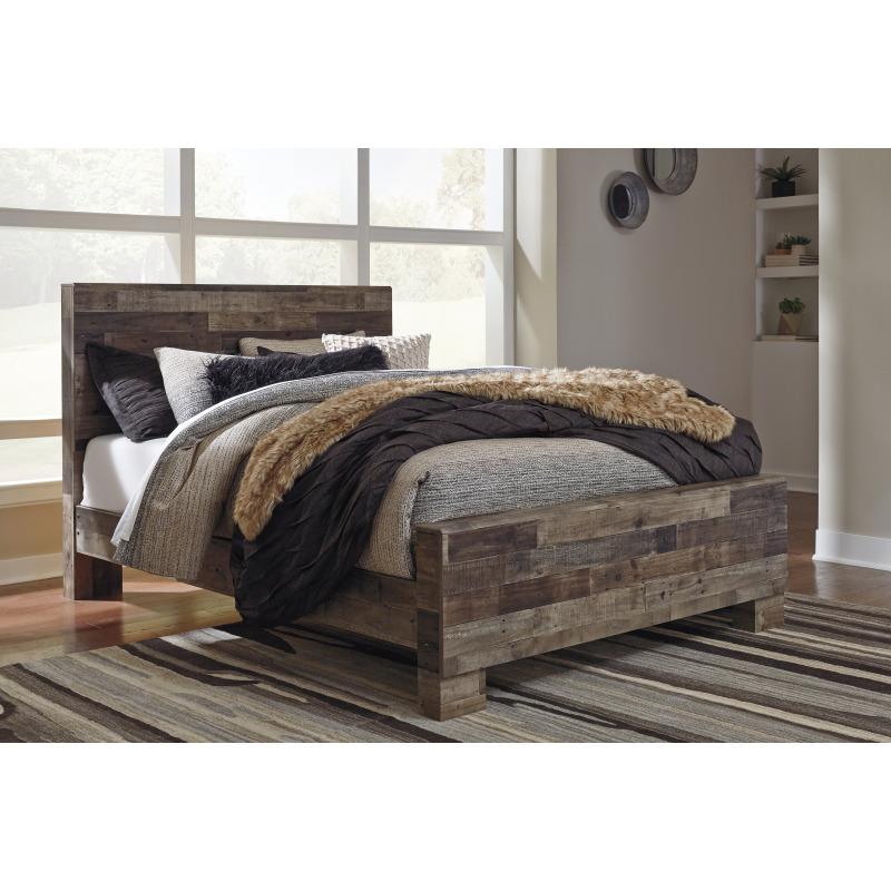 Derekson Queen Panel Bed By Benchcraft Godwin S