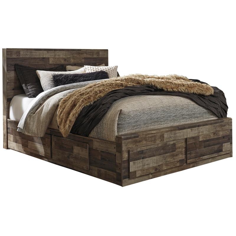 Derekson Queen Panel Bed with Storage