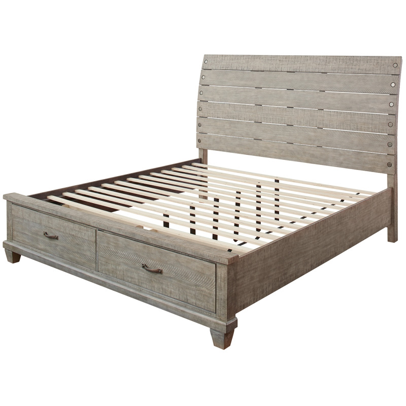 Naydell King Panel Bed with Storage