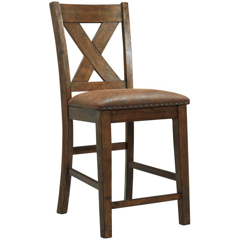 Awe Inspiring Chaleny Counter Height Bar Stool D392 124 Gustafsons Machost Co Dining Chair Design Ideas Machostcouk