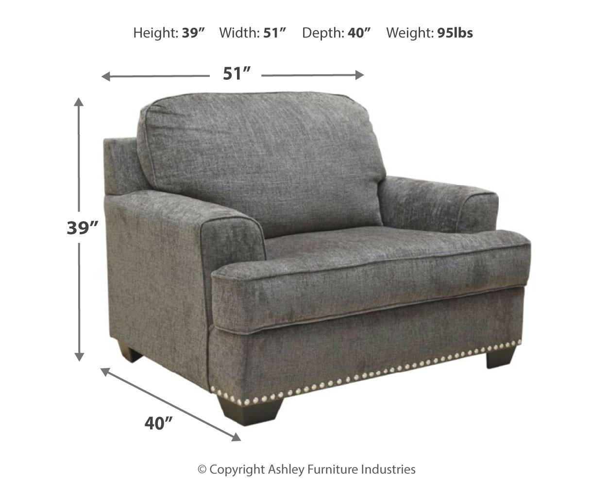 Locklin Oversized Chair By Benchcraft Nis869521233 Callan Furniture