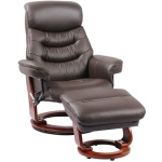 Happy Reclining Chair w/Footrest - Kona Brown