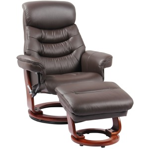 Happy Reclining Chair w/Footrest - Kona Brown