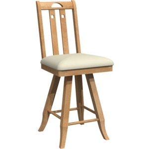Mission Bar stool