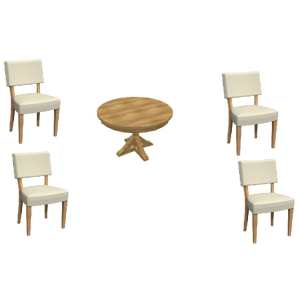 Expressions 5PC Dining Set