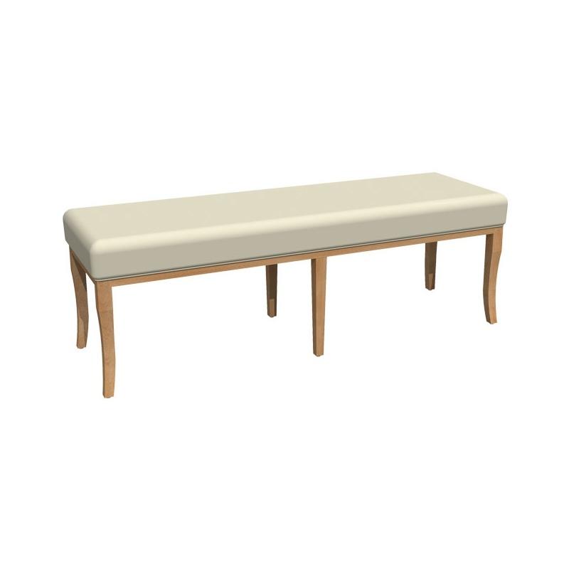 Casual Contemporary Bench