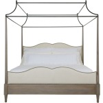 Auberge Poster Bed with Metal Canopy