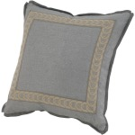 Decorative Pillow Microflange with Picture Frame Tape