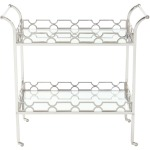 Criteria Metal Bar Cart
