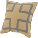 Decorative Pillow Fretwork