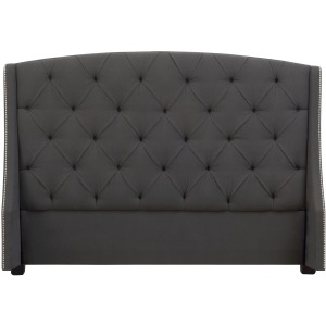 Jordan Button Tufted Wing Headboard King