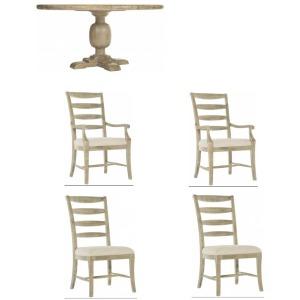 Rustic Patina 5PC Dining Set