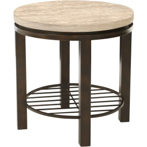 Tempo Round End Table
