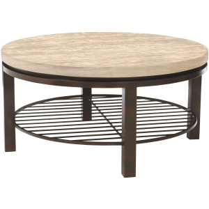 Tempo Round Cocktail Table