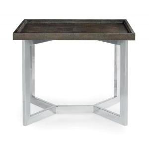 Stratton Metal End Table