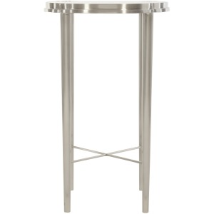 Metal Chairside Table