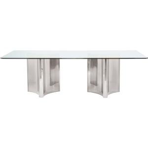 Abbott Metal Dining Table