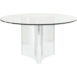Abbott Round Metal Dining Table